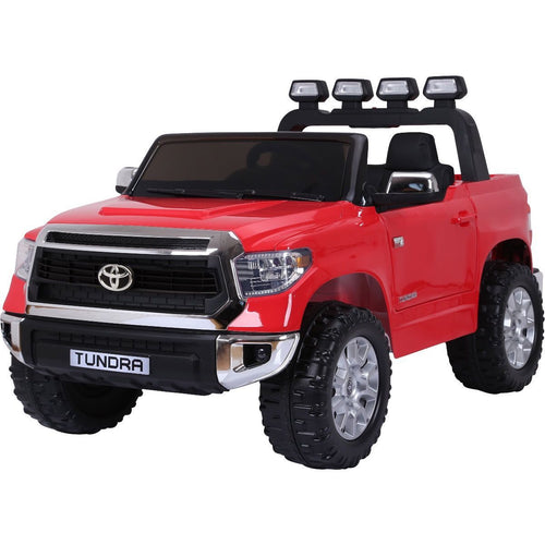 Licensed Toyota Hilux - 24V  Ride-On -  Childrens Electric Jeep Pickup - Red
