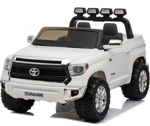 Licensed Toyota Hilux - 24V  Ride-On -  Childrens Electric Jeep Pickup - White