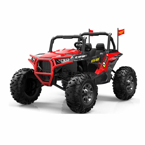 NEW - 24V UTV - Kids Electric Ride On - 4x4 Jeep - Red