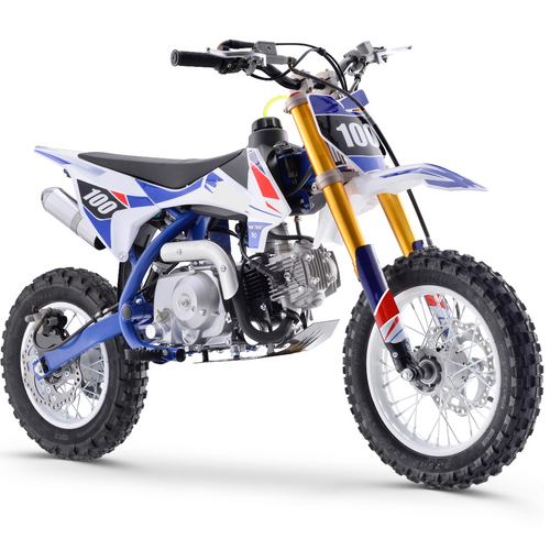 Renegade 110R - 110cc 4-Stroke Petrol Dirt Bike - Blue