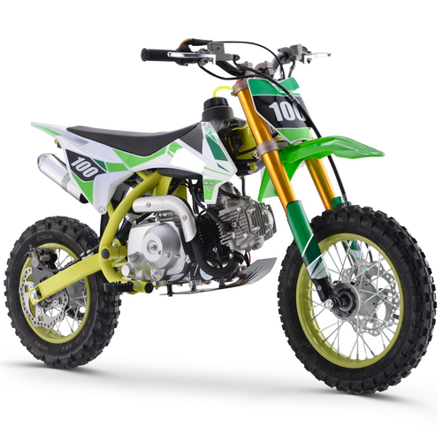 Renegade 110R - 110cc 4-Stroke Petrol Dirt Bike - Green