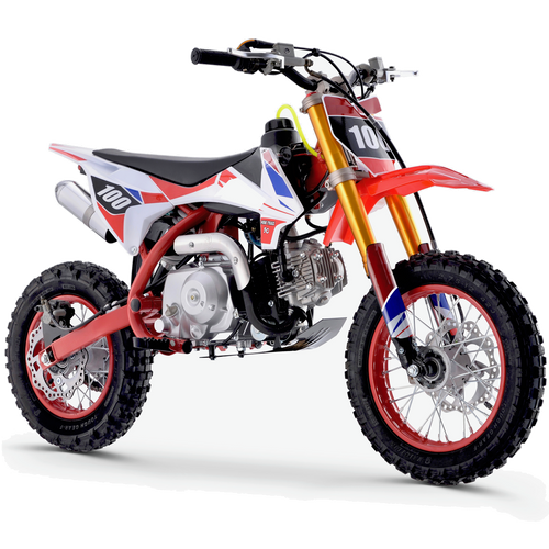 Renegade 110R - 110cc 4-Stroke Petrol Dirt Bike - Red