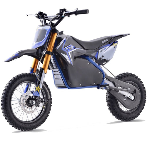 Renegade 1200E 48V 1200W Electric Dirt Bike - Blue