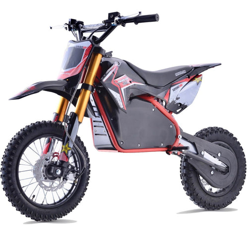 Renegade 1200E 48V 1200W Electric Dirt Bike - Red
