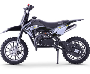 Renegade 50R -  49cc Petrol Mini Dirt Bike - White