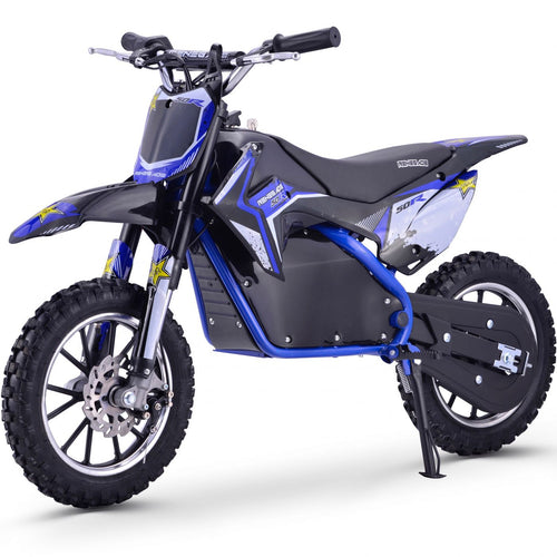 Renegade 50R - 500W 36V Electric Mini Dirt Bike - Blue