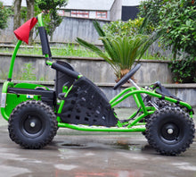 Load image into Gallery viewer, Renegade  Buggy 1000 - 48v Electric Go Kart - with Reverse - Green