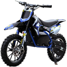 Load image into Gallery viewer, Renegade Lithium 50R - 500W 36V Mini Dirt Bike - Blue