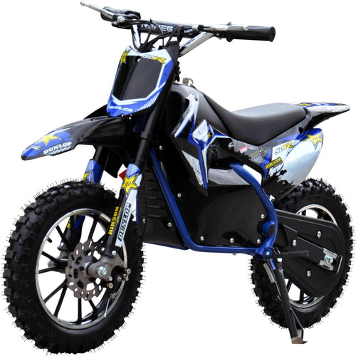 Renegade Lithium 50R - 500W 36V Mini Dirt Bike - Blue