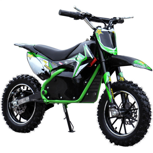Renegade Lithium 50R - 500W 36V Mini Dirt Bike - Green