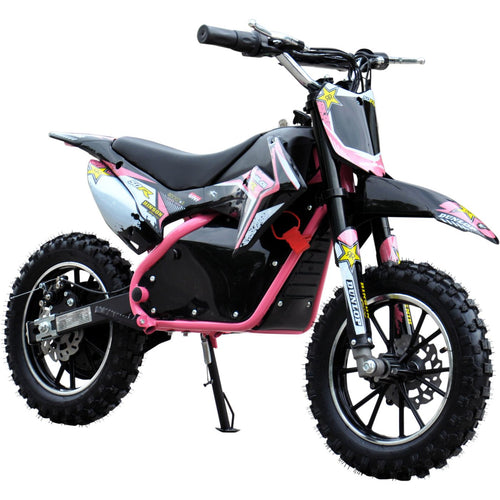 Renegade Lithium 50R - 500W 36V Mini Dirt Bike - Pink
