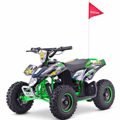 Renegade LT100E -  Electric Battery 1000w Quad Bike - Green