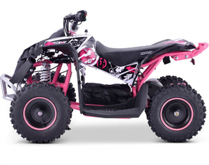 Renegade Race-X 48V 1000W Electric Quad Bike - Pink