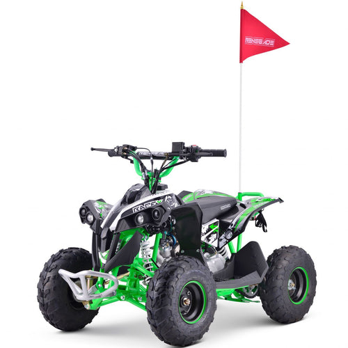 Renegade Race-X MX110 - 4-stroke 110cc Petrol Quad - GREEN
