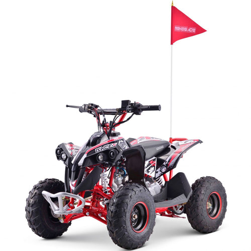 Renegade Race-X MX110 - 4-stroke 110cc Petrol Quad - RED