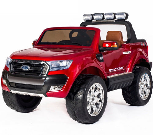 Ultimate Ford Ranger Wildtrak Licensed 4WD 24V* Battery Ride On Jeep - Red