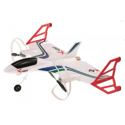 X420 6Ch 2.4Ghz Vertical Takeoff And Landing RTF RC Plane