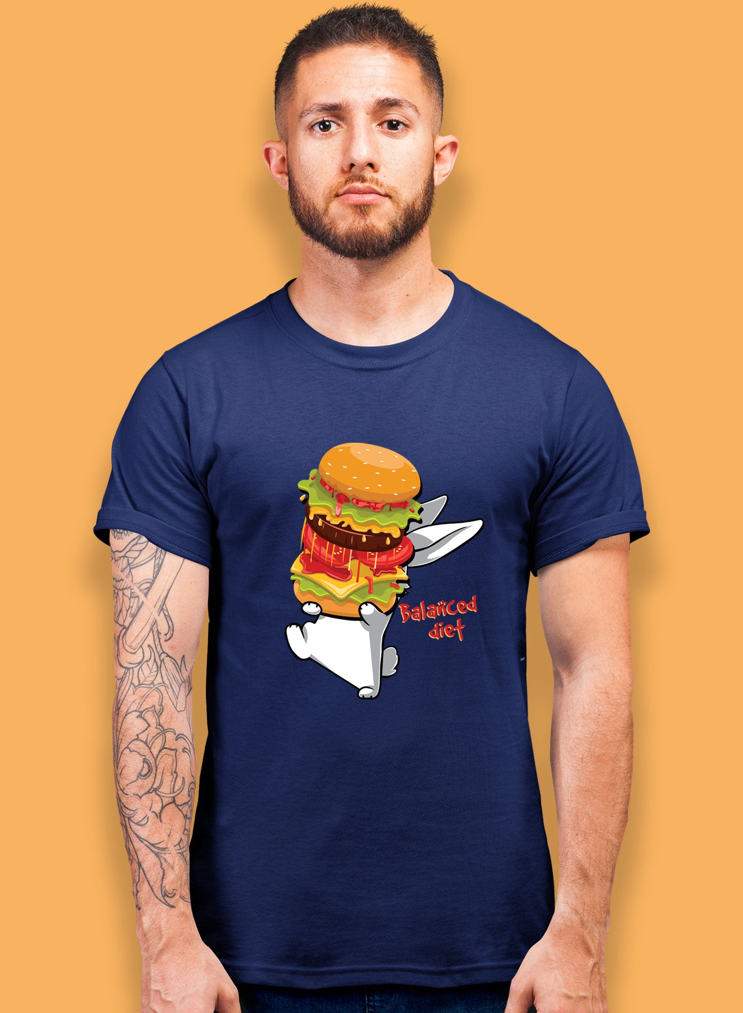 Balanced Diet T-shirts