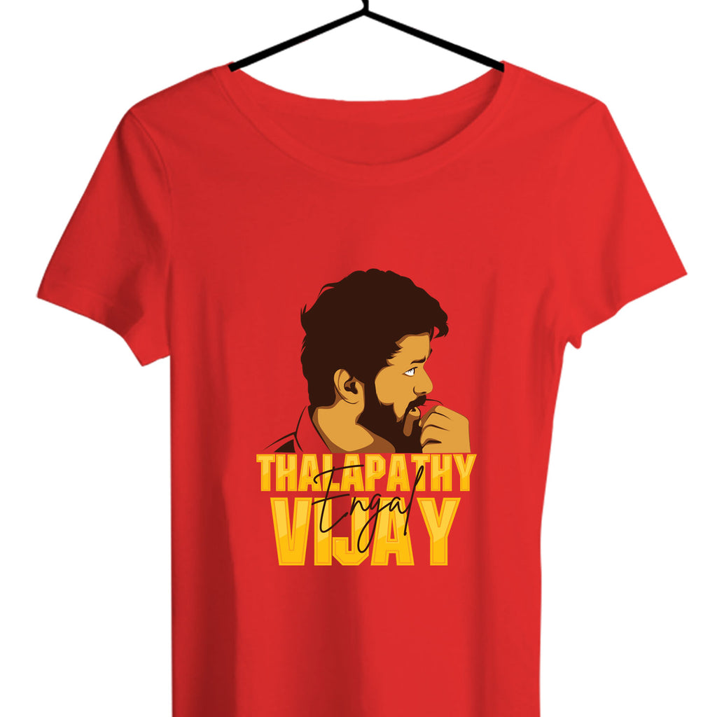 Engal Thalapathy Women T-shirts - TrendTones
