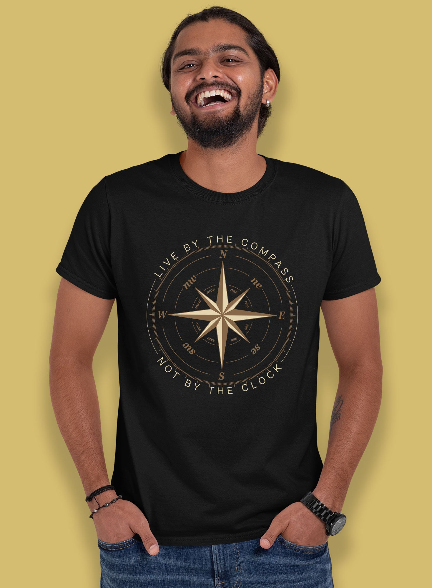 Live By The Compass T-shirts