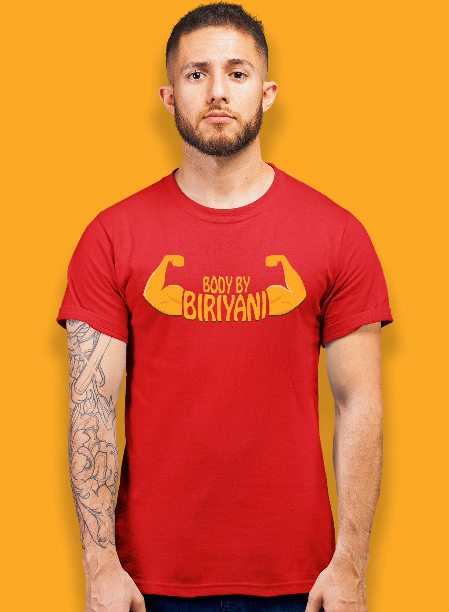 Body By Biriyani T-shirts