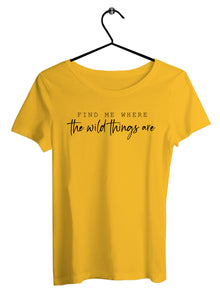 Find Me Women T-shirts