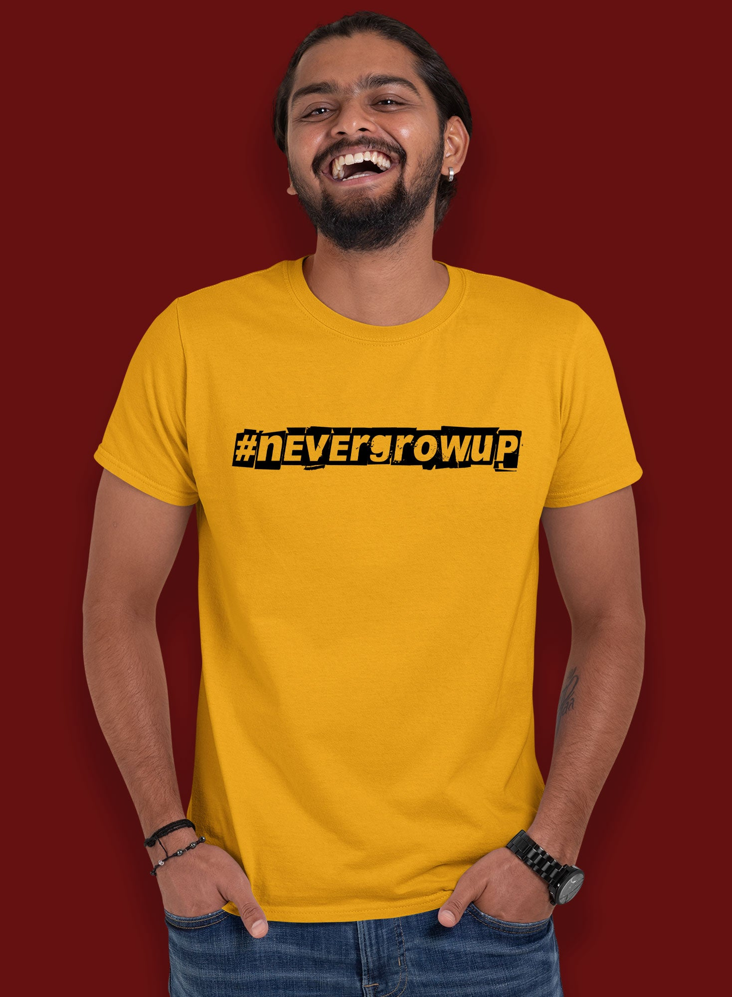 Never Grow Up T-shirts
