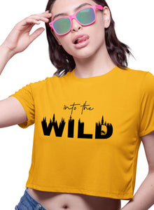 Into the Wild Crop-Top