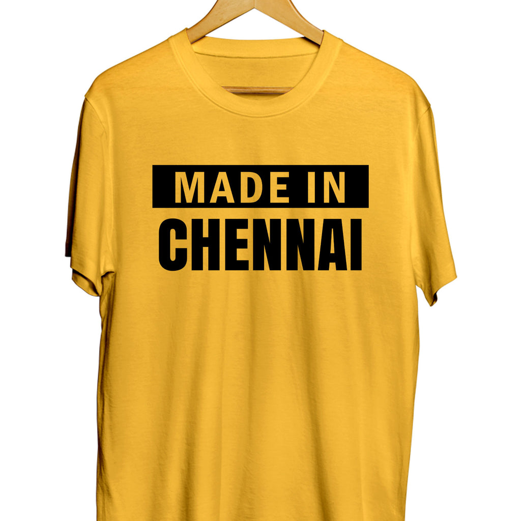 Made in Chennai T-shirt - TrendTones