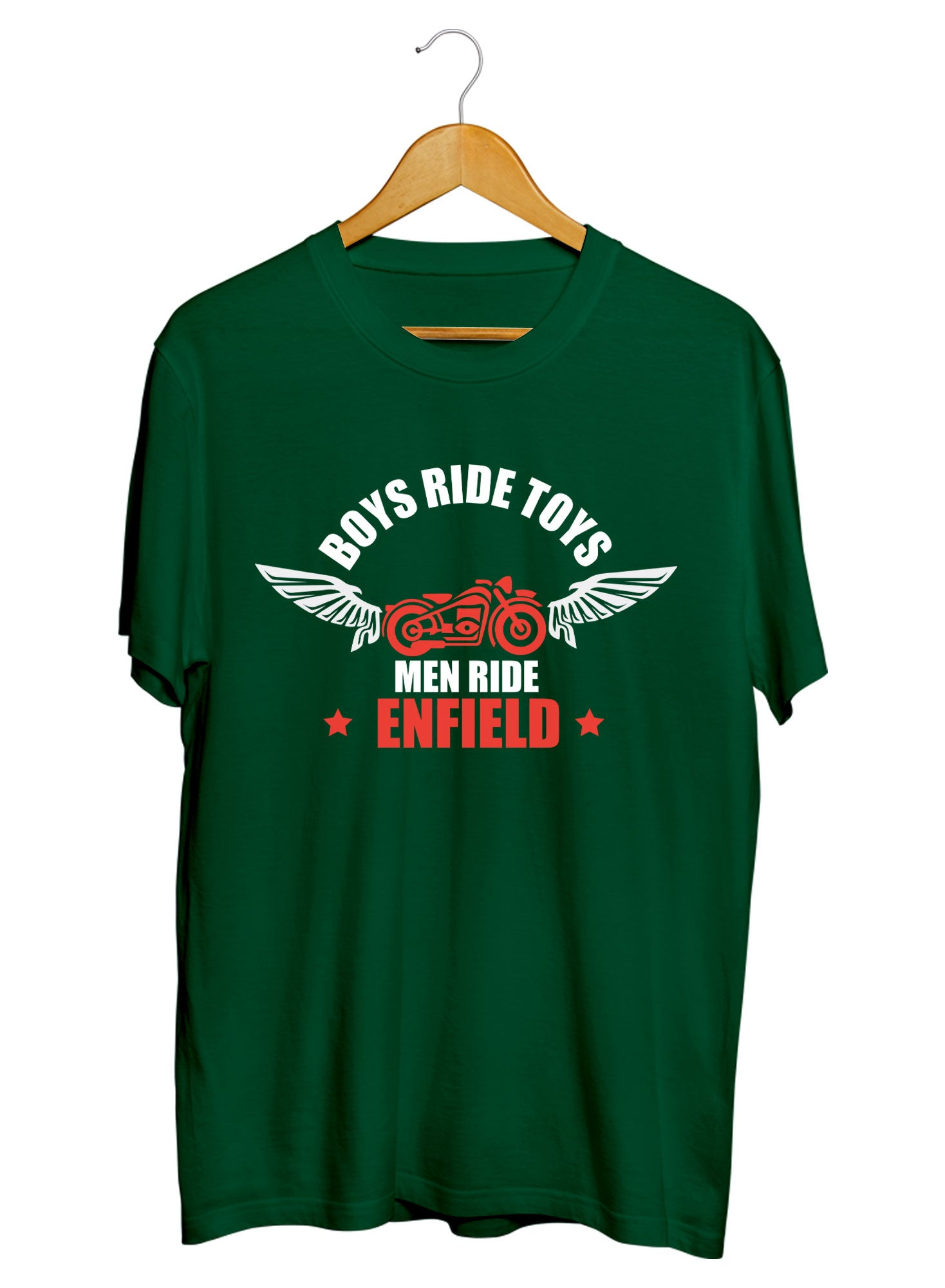 Men Ride Enfield T-shirts