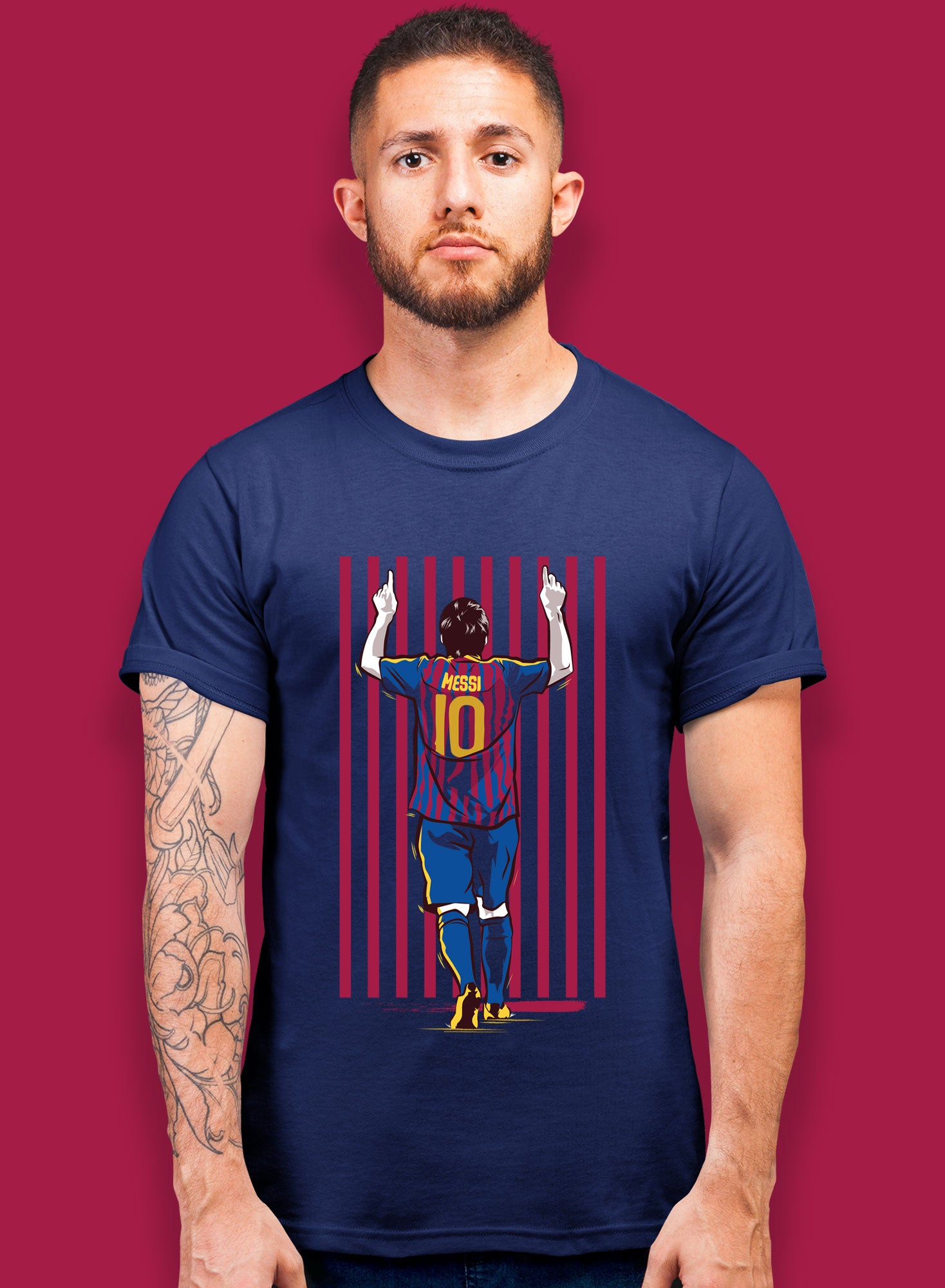 Messi Celebration T-shirts