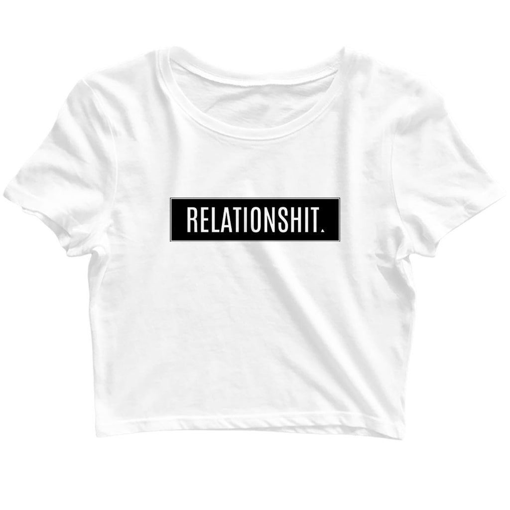 Relationshit Crop-Top - TrendTones