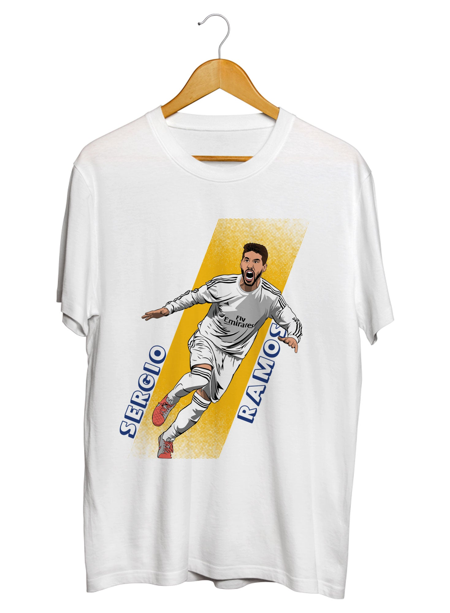 Sergio Ramos Celebration T-shirts
