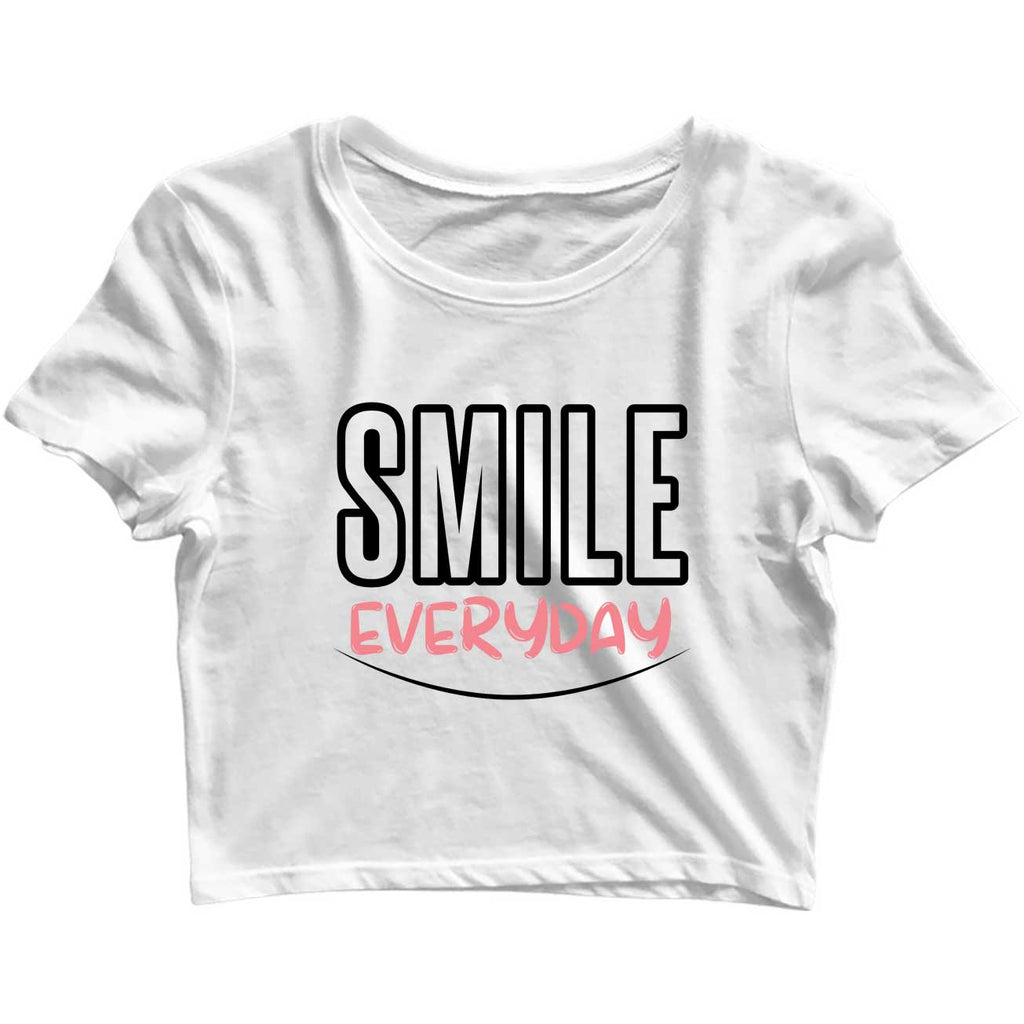Smile Everyday Crop-Top