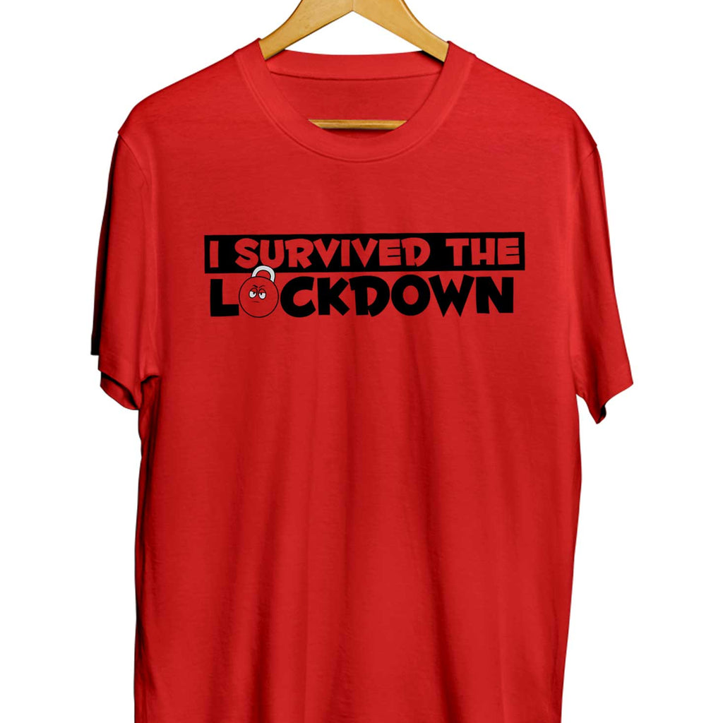 Survived The LockDown T-shirts - TrendTones