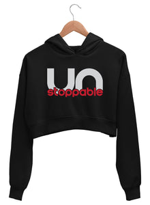 Unstoppable Crop Hoodies
