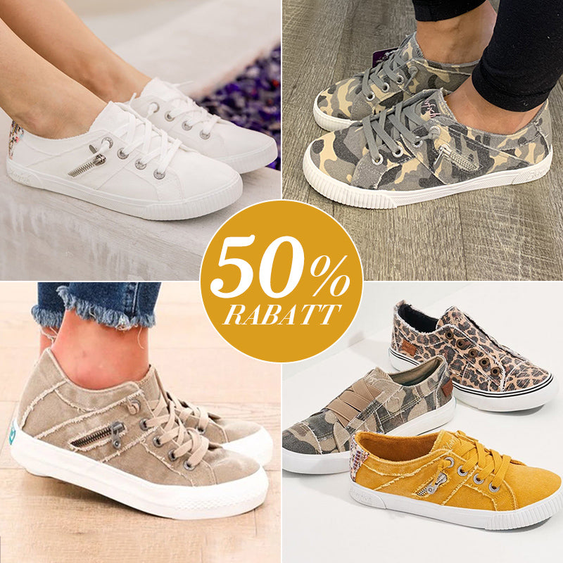 College canvas High waist shoes Flats Round head Daily shoes