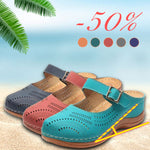 Women's Fashion Hollow Flat Sandals