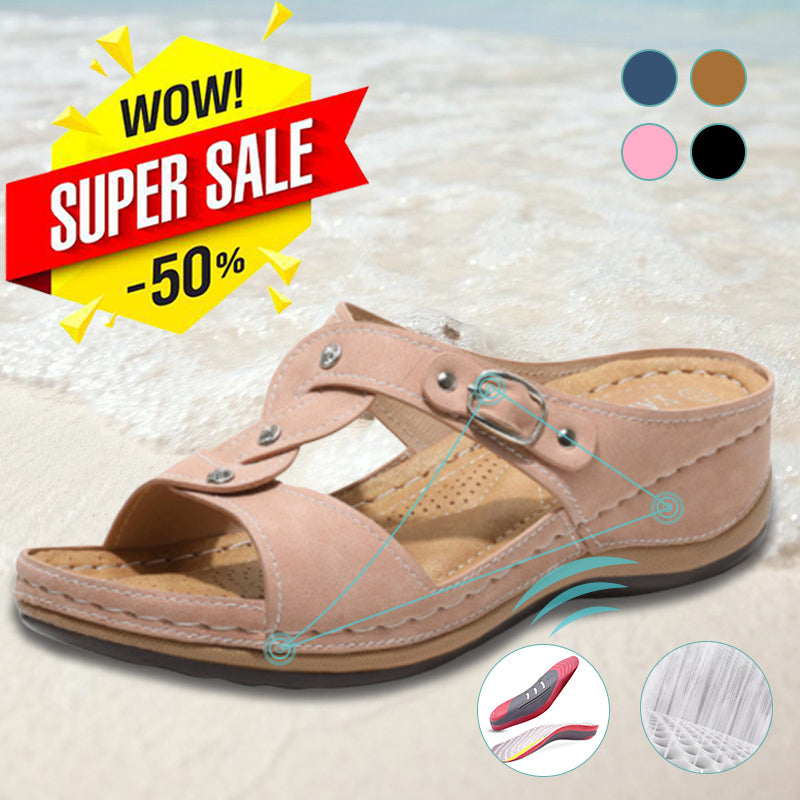 Women's Fashion Cross Strap Sandals