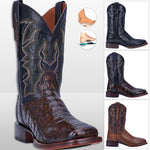 Men's Exotic Caiman Leather Cowboy Boots