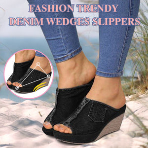 Summer Casual Beach Cowboy Wedges Sandal