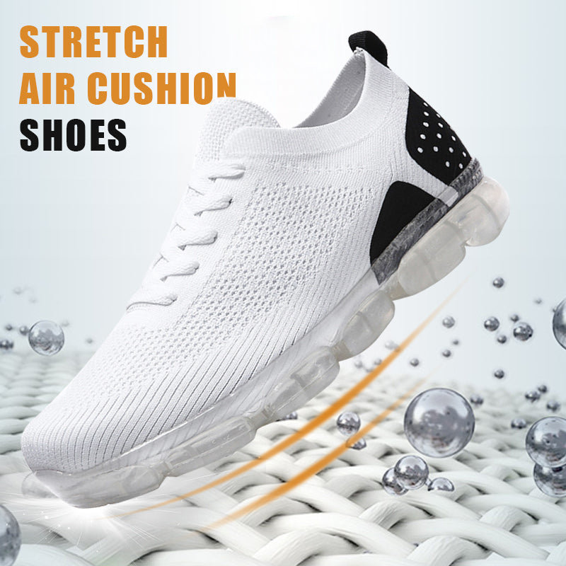 Air Cushion Fly-knit Athletic Running Shoes Trainers Sneakers