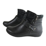 Women's Casual Retro Wild Round Toe Boots