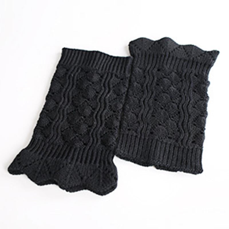 Women's Fashion Imitation Lace Warm Openwork Socks