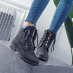 ★2020 NEW★ Women's Removable Lace Up Boots