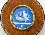 Rare French Revolution Snuff Box, Vernis Martin, with Signed Miniature Painting