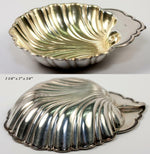 Gorham Sterling Silver 18k Gold Vermeil Scallop Shell 6pc Butter Pat or Nut Cups