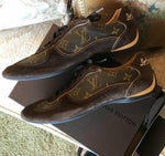 Vintage 2009 Louis Vuitton GO 39.5 Sport Shoes, Original Box, Receipt, Etc., Exc