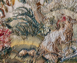 Antique French 19th c. Beauvais or Aubusson Tapestry Panels, Chair Cushions, Pillows - Hunt Theme