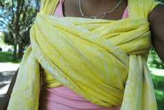 Royal Quill Lemonade Baby Wrap